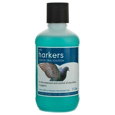 Harkers Coxoid Coccidiosis Treatment for Pigeon 112ml Bottle