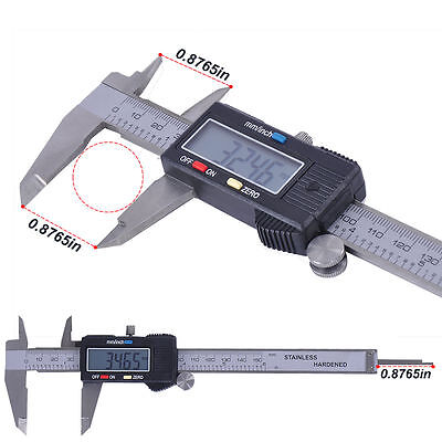 "6"" Inch/150mm Stainless Steel Electronic LCD Digital Vernier Caliper Micrometer"