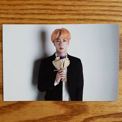 Jin Official Broadcast Photocard BTS Love Yourself Answer Kpop Genuine