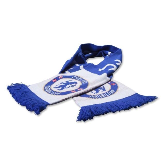Chelsea Scarf Tipped Word Mark