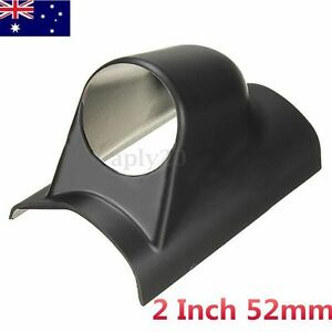 Universal 2 Inch 52mm Black Car Auto Single One Pillar Pod Hole Gauge Holder
