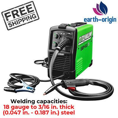 Titanium Easy Flux 125 Amp Welder Welding Machines Dc Based Inverter Wire Feeder