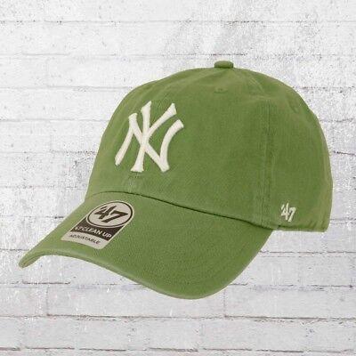 47 Brands Clean Up Baseball Cap NY Yankees vintage grün Kappe Haube Basecap Capi