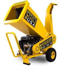 Biotrituradora ramas motor OHV de gasolina potencia 9cv trituradora bio Greencut