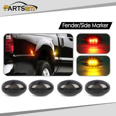 For 99 12 Chevy Gmc Led Side Dually Bed Rear Replacement