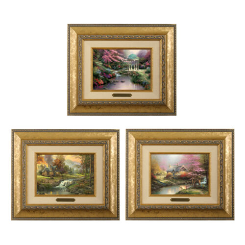 Thomas Kinkade 3 Brushwork Deal / Save 66% in eBay Deals (Choice Of Frame)