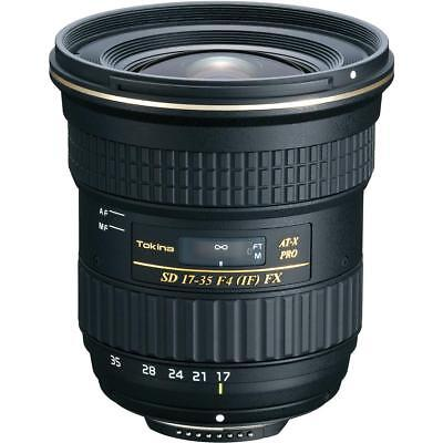 Tokina 17-35mm F/4 AT-X Pro FX Lens for Nikon Digital SLR Cameras #ATXAF175FXN