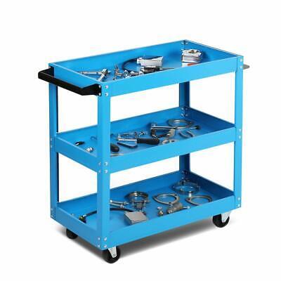 3 Tier Heavy Duty Workshop Garage Mechanic Utility Trolley Service Tool Cart