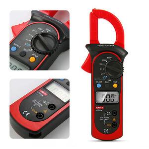 UNI-T UT202A AC Digital Stromzange Zangenamperemeter Multimeter MessgerätBI151