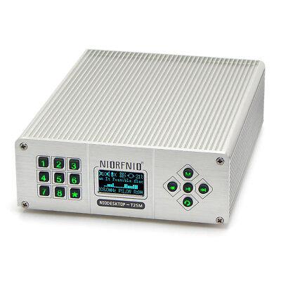 25W PLL FM Transmitter Radio Stereo Station Wireless Broadcast with TNC Antenna Radio Station Transmitter