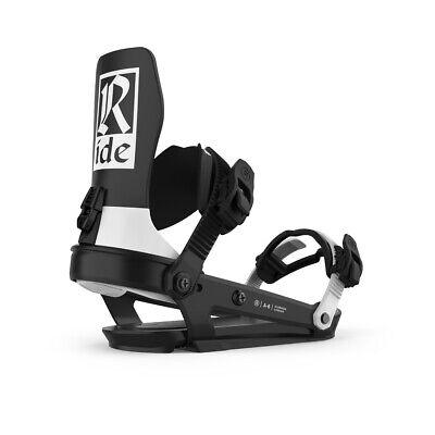 как выглядит Ride A-6 Snowboard Bindings 2021 Classic Black M фото