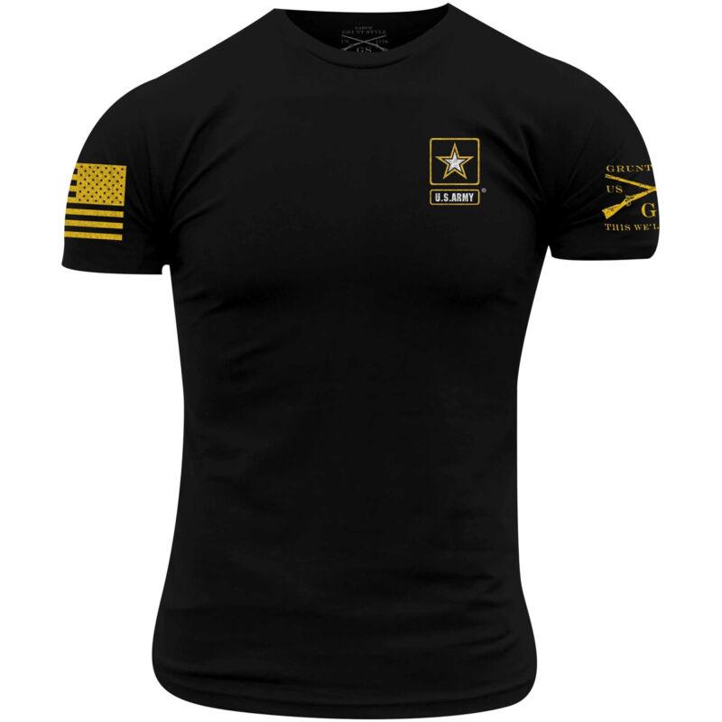 Grunt Style Army - Basic Full Logo T-Shirt - Black