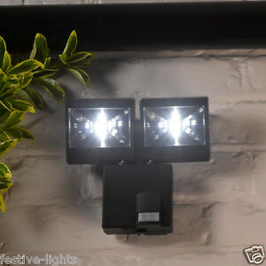 Battery operated outdoor motion lights