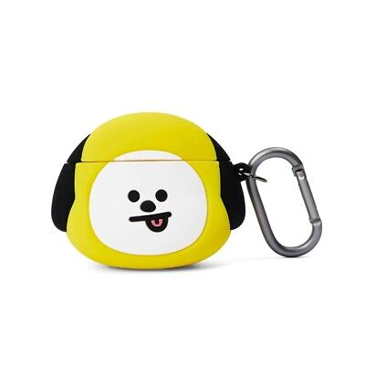 LINE FRIENDS BT21 Basic Case CHIMMY for AirPods w Keyring Official Goods BTS