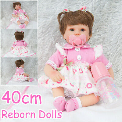 40cm Maternal & Child Toy Reborn Doll Newborn Baby Doll Handmade Best Gift