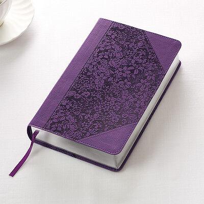 Kjv Holy Bible King James Version Giant Print Purple Faux Leather