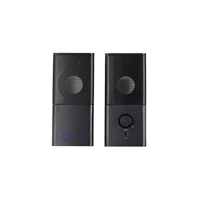 Nedis Gaming PC Lautsprecher 2.0 18W Speaker Multimedia Boxen für PC Computer