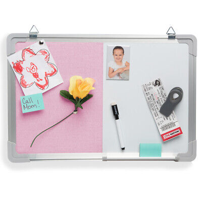 Bulletin Whiteboard Magnetic Dry Erase Combination Board Office Home Dcor