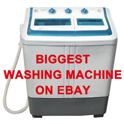 غسالة ملابس جديد Manatee Portable Small Compact mini Washing Machine Washer 5.0KG15lbs larger one