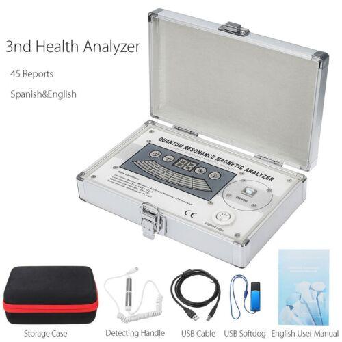 2021 EHM Quantum Magnetic Resonance Body Analyzer® 45 Reports English & Spanish