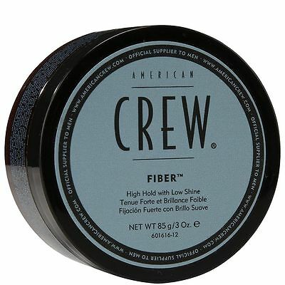American Crew Fiber - High Hold Low Shine 3oz Men's Strong Wax Paste 85g NEW  American Crew Hair Wax