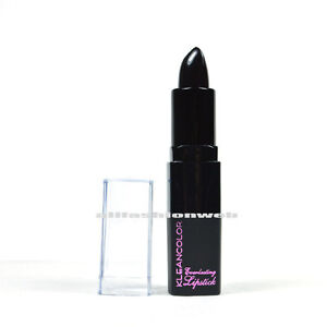 1-KLEANCOLOR-EVERLASTING-LIPSTICK-LS24-701-BLACK-CREAMY-LIP-STICK