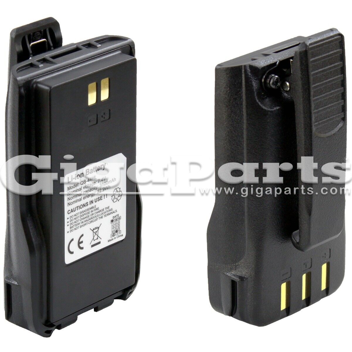 Details about Anytone AT-D868UV and AT-D878UV Spare Battery, 3100mAh 7 4v