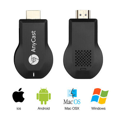 AnyCast 1080p WiFi HD HDMI Media Player Streamer TV Cast Dongle Stick Miracast