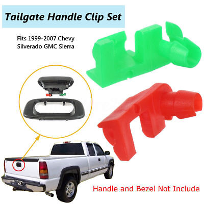 Gmc Yukon Tailgate Handle (Tailgate Handle Door Lock Rod Clip RH LH For GM Chevy Silverado GMC Sierra Yukon )