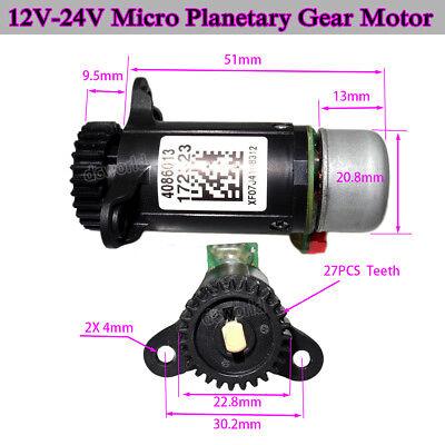 12v-24v Micro Dc Brushless Planetary Gear Motor External Rotor With Hall Sensor
