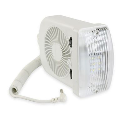 1 NEW RV LED 12v Fan LIGHT FOR CAMPER TRAILER RV MARINE ()