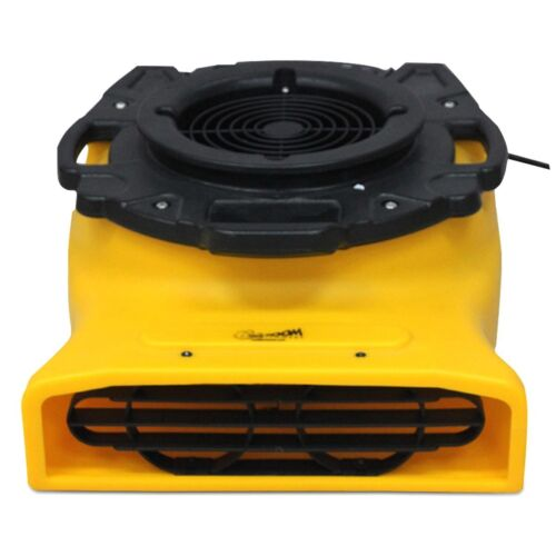 Zoom 1/4 HP Centrifugal Compact Flat Floor Dryer Fan for Basement Crawl Spaces