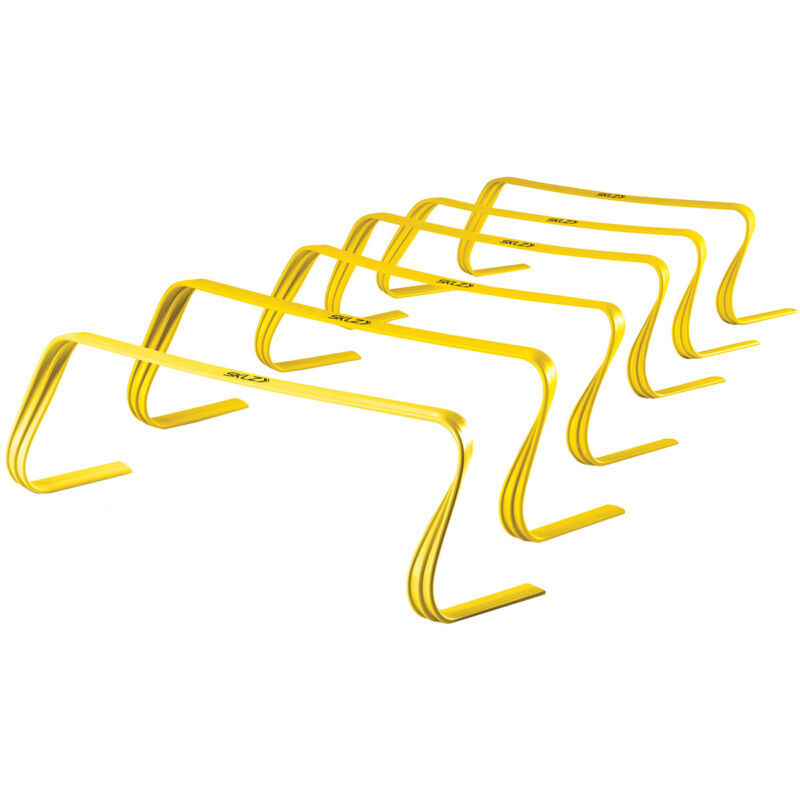 SKLZ 6-Pack Footwork and Agility Training Hurdles - Yellow