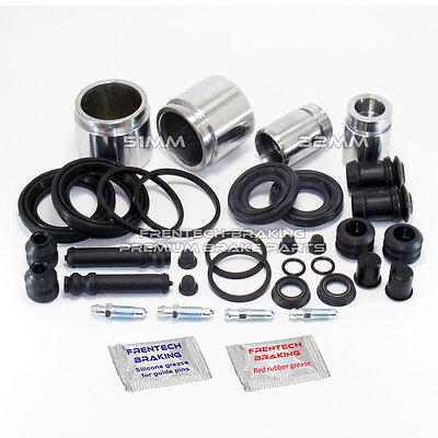 Mazda MX5 MK1 MK2 (90-05) Front & rear brake caliper repair kits & pistons Kit-1