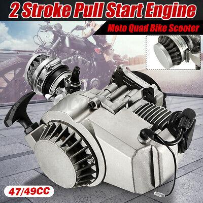 47cc/ 49cc  2Stroke Pull Start Engine Motor Fit for Pocket Mini Quad Bike Scoote