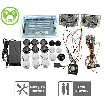 Retro Games Pandora's Box 5S 1299 DIY Arcade Console 2 Joysticks Game Board Kit