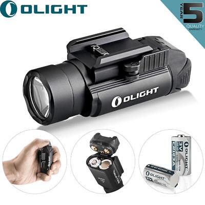 Olight PL-2 Valkyrie 1200 Lumen Pistol LED Flashlight With 2pcs CR123 Batteries