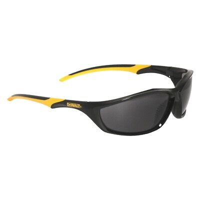 Dewalt Router Safety Glasses With Smoke Lens Black And Yellow Frame