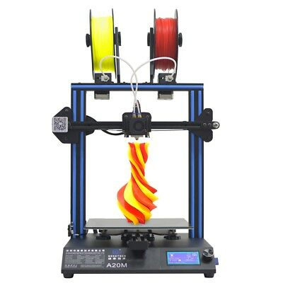 A20m 3d Printer Geeetech Break-resuming Capability 2 In 1 Out Extruder