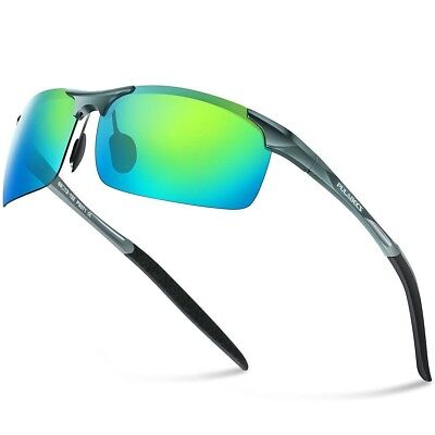 596a9221675 Men s Sports Style Polarized Sunglasses Cycling Running Fishing Driving  UV400 US