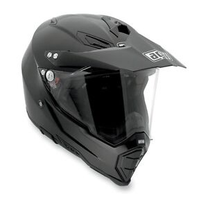 AGV AX-8 dual Evo helmet. With black visor