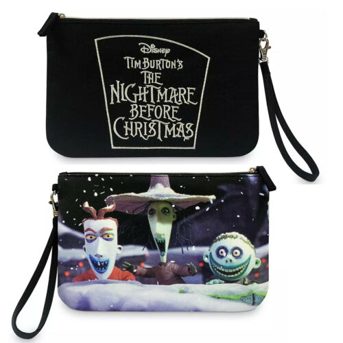 Disney The Nightmare Before Christmas Cosmetic Makeup Bag Pencil Case Pouch