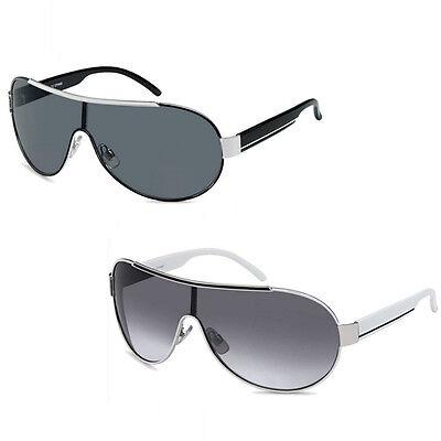 Top 3 für 2 Pilotenbrille SONNENBRILLE Sonnen Brille Herren Damen Weiß Schwarz
