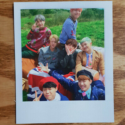Group Cut Official Photocard BTS Special Album Young Forever Kpop Genuine