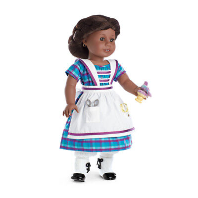 "American Girl ADDY DRESS & SEWING SET BEFOREVER for 18"" Dolls NEW Outfit"