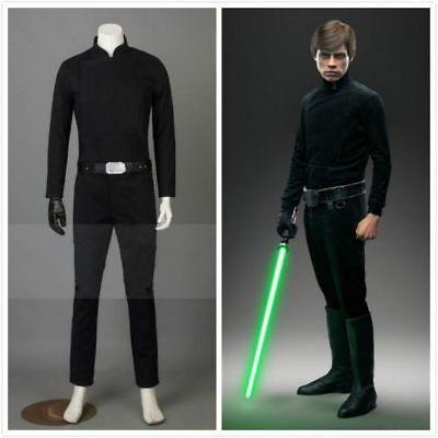 NEW Star Wars Return Of The Jedi Luke Skywalker Cosplay Costume FF.20