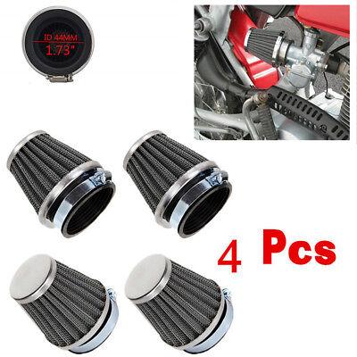 New 4pcs 44mm Air Filter Cleaner For Gy6 150cc ATV Quad 4 Wheeler Go Kart Buggy