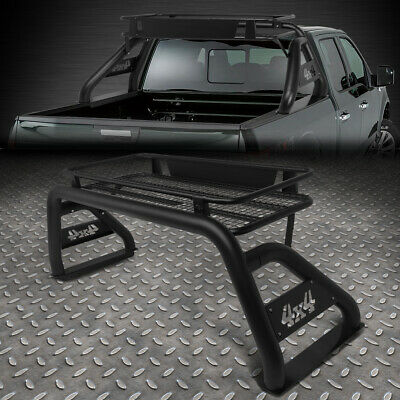 FOR 17-18 FORD F250/F350/F450 SUPER DUTY STYLESIDE BED ROLL BAR+ROOF CARGO RACK