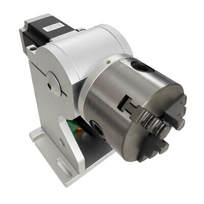 Rotary Axis Rotary Chuck Rotating Shaft With Driver For Laser Marking Machine