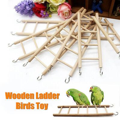 6 Size Parrot Ladder Swing Climbing Perch Bridge Cockatiel Budgie Pet Bird Toys